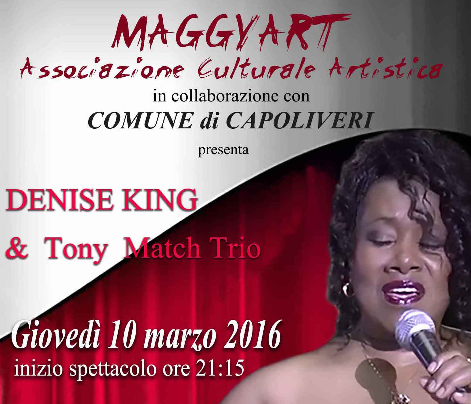When jazz meets blues – Denise King & Tony Match Trio